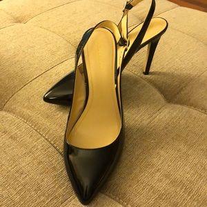 BCBGeneration black patent sling back heels